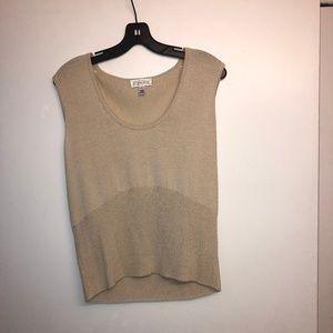 St. John Sport by Marie Gray Cream Sweater Vest